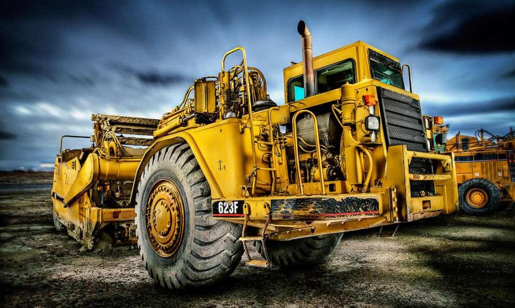 Βιομηχανικό όχημα εκσκαφέας